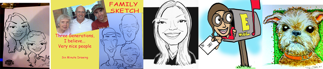 Caricature Sample Drawings